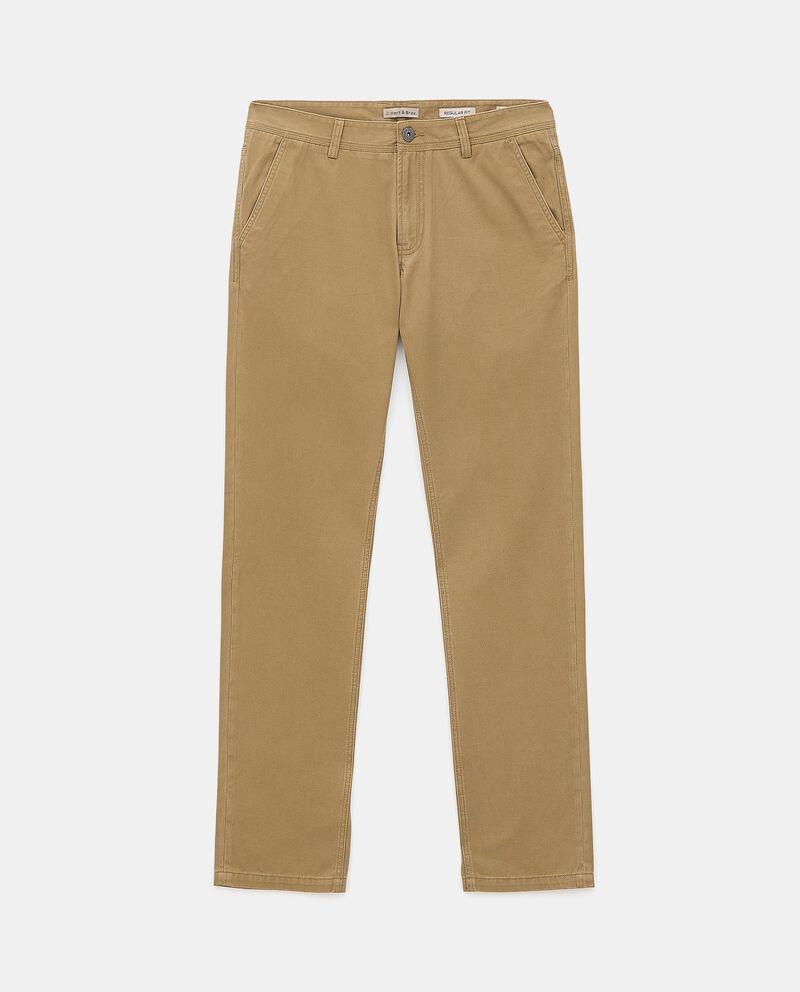 Pantaloni chino di puro cotone uomo cover