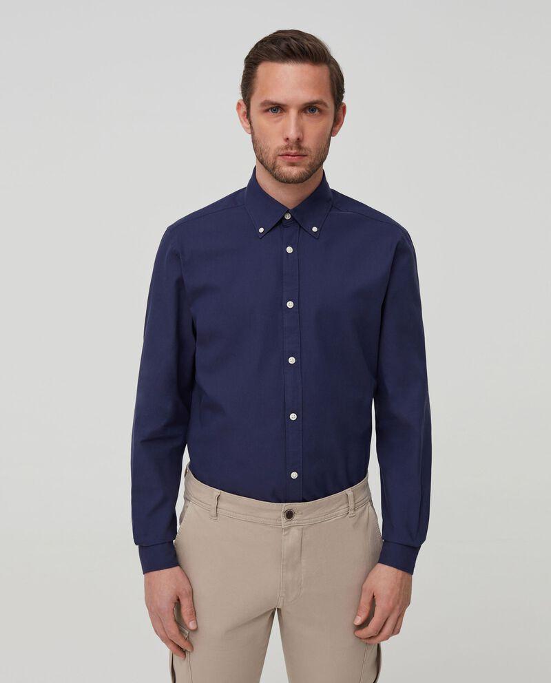 Camicia puro cotone tinta unita cover
