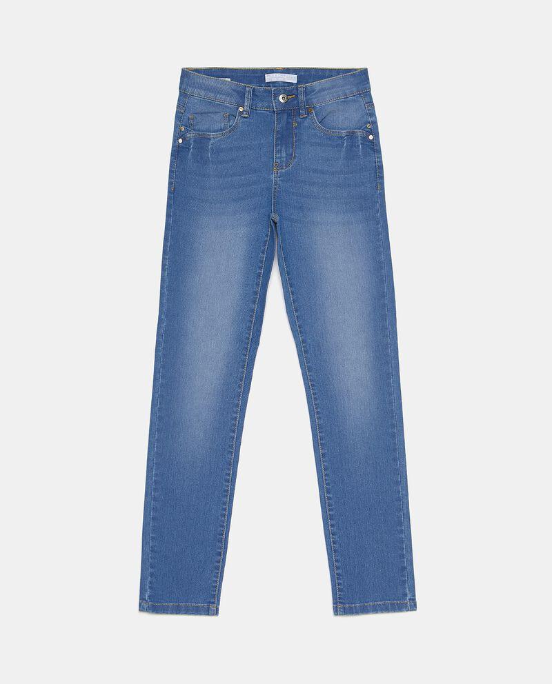 Jeans slim fit in cotone elasticizzato donna cover
