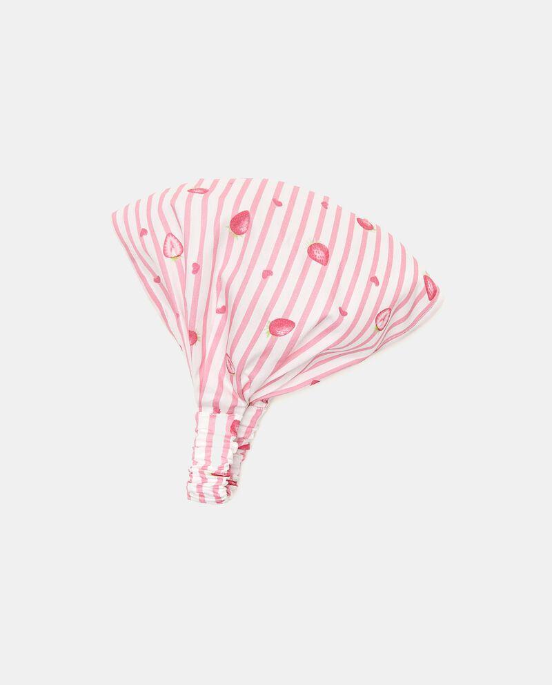 Bandana popeline puro cotone neonata