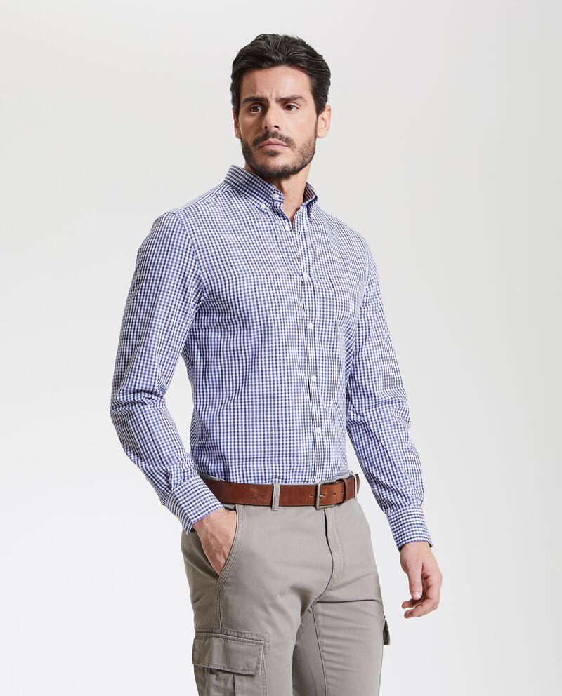 Camicia quadretti uomo