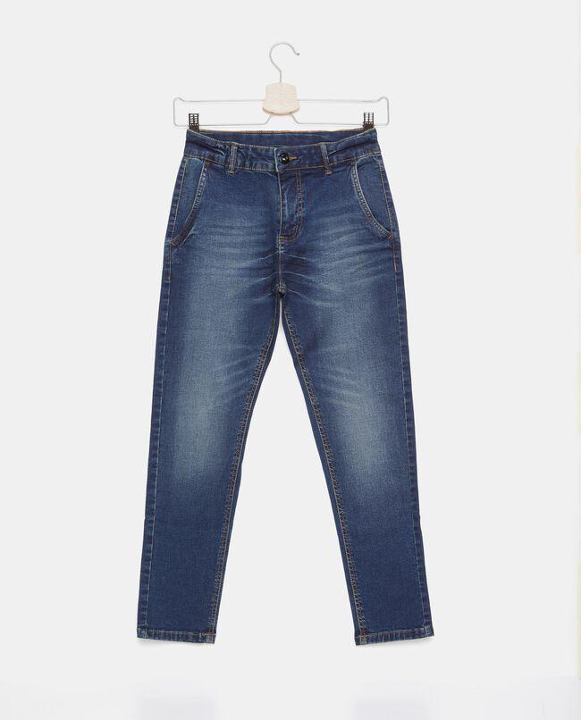 Jeans con tasche ampie sul fronte ragazzo