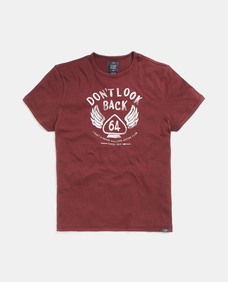 T-shirt in puro cotone maniche corte