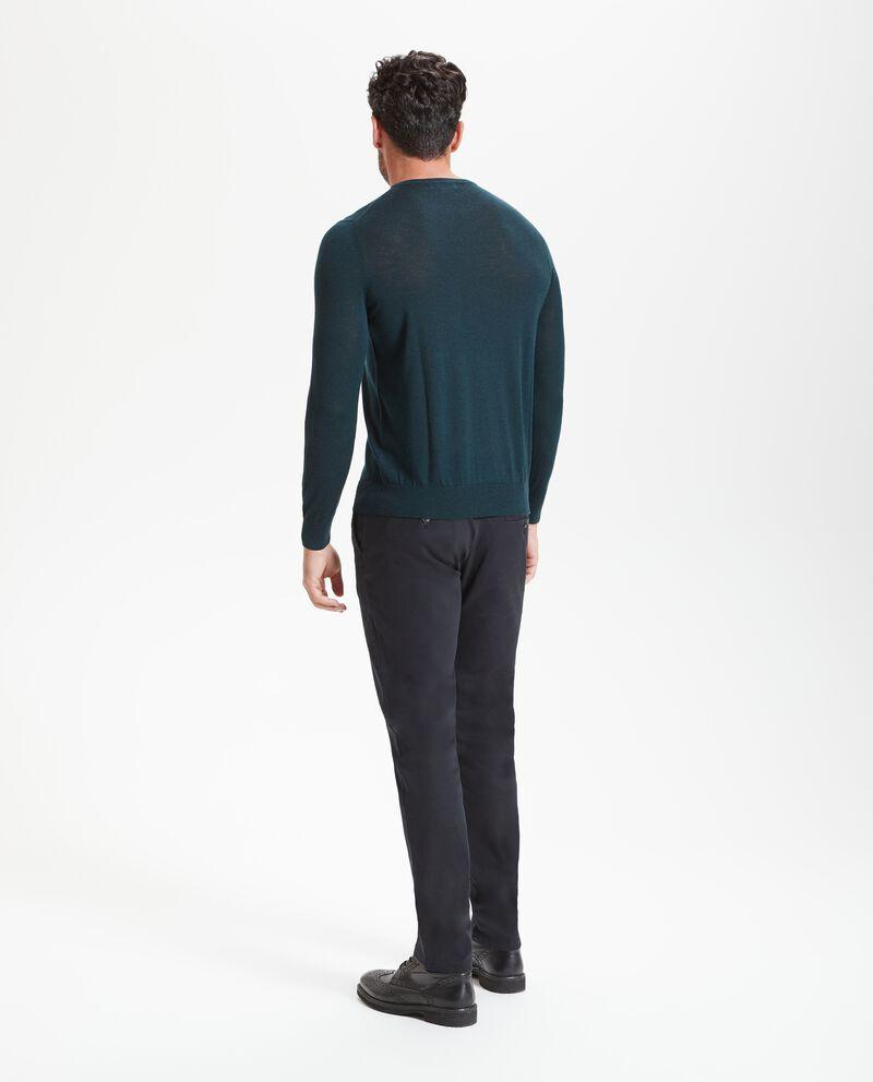 Maglione in pura lana merino uomo