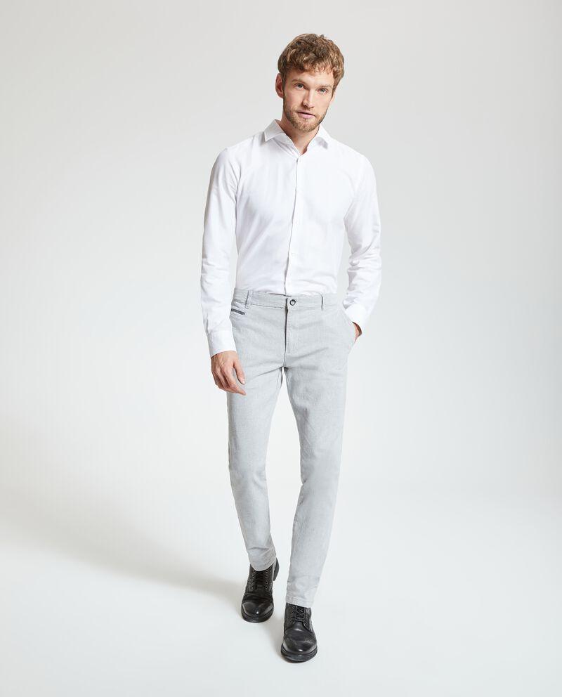 Pantaloni eleganti tinta unita