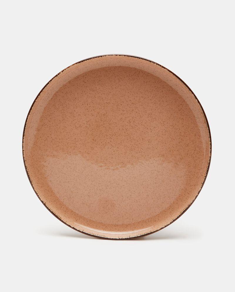 Piatto piano in ceramica