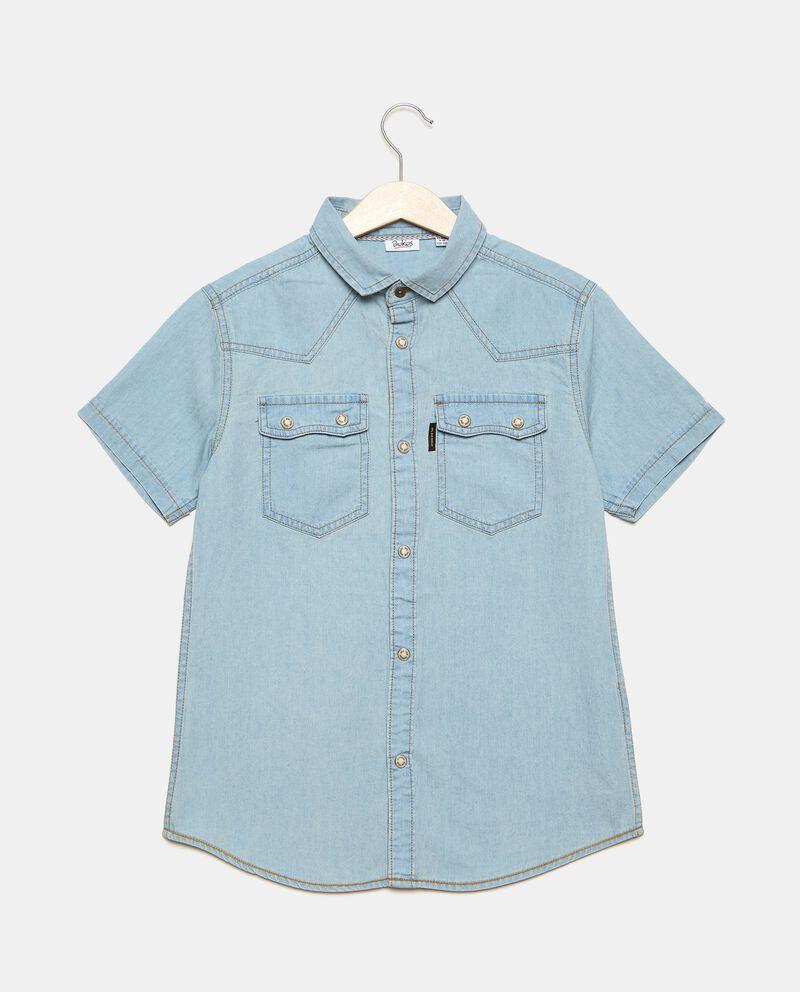 Camicia in denim leggero ragazzo