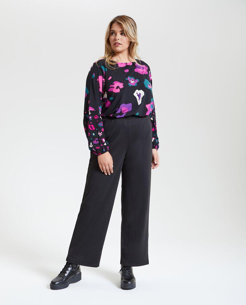 Pantaloni ampi taglie comode donna