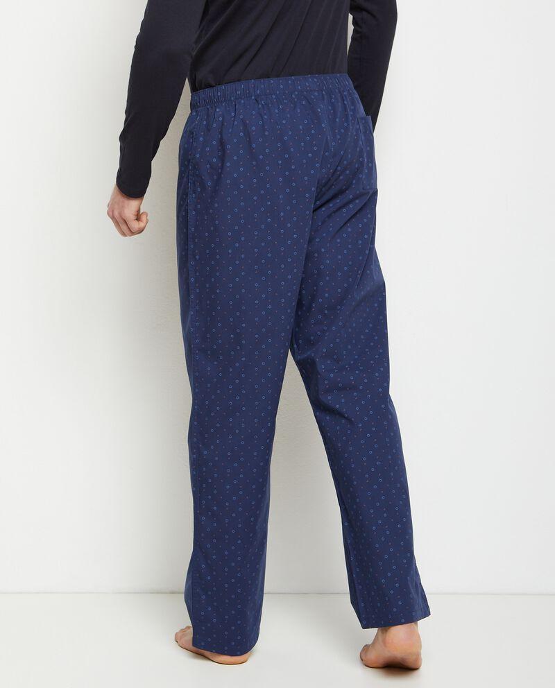 Pantaloni pigiama di cotone uomo