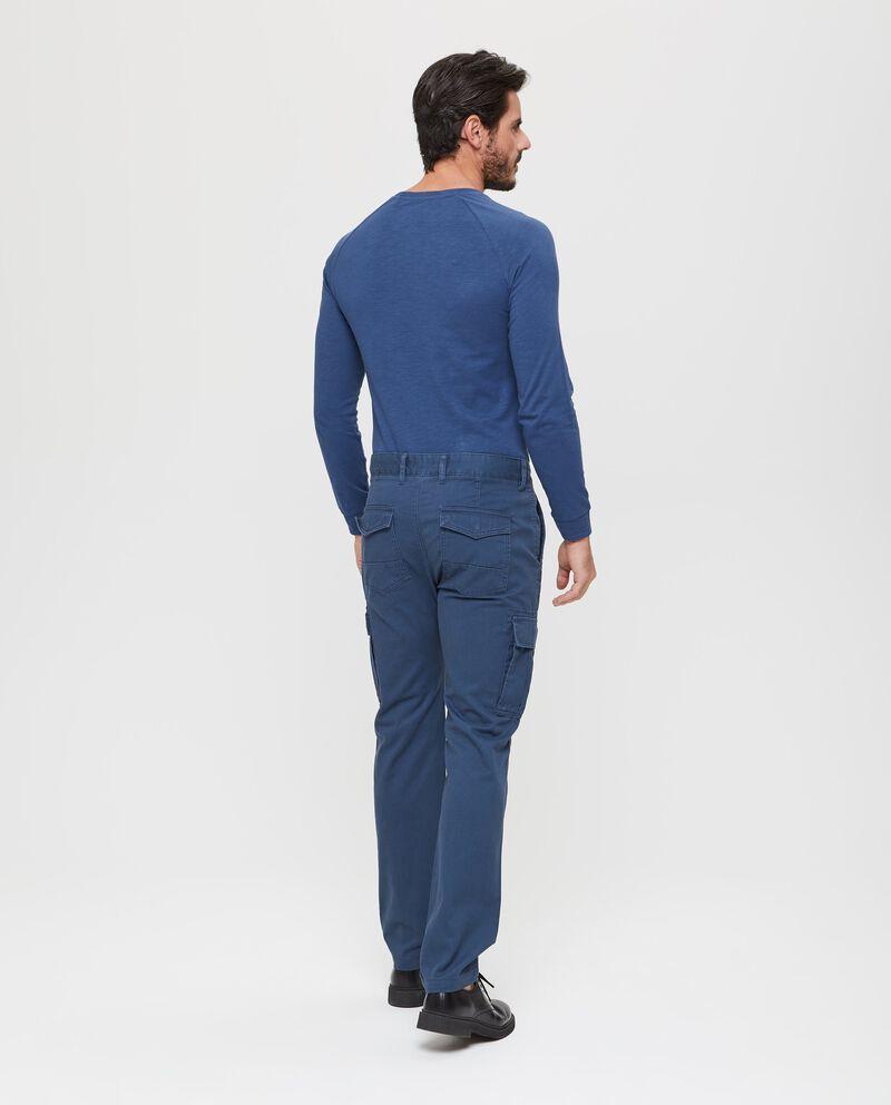 Pantaloni in puro cotone con tasche