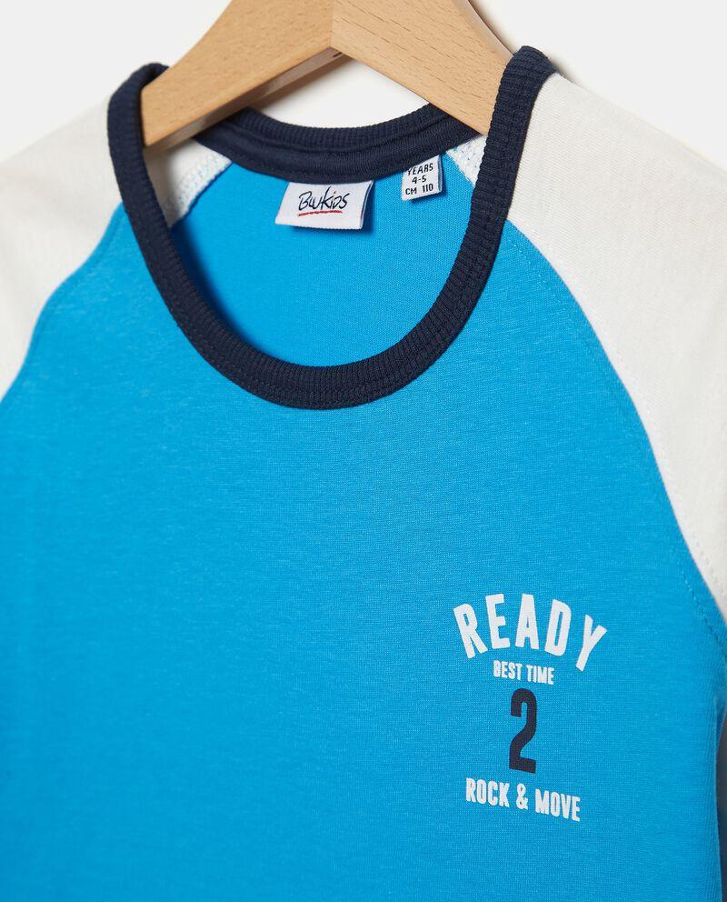 T-shirt in jersey cotone organico bambino