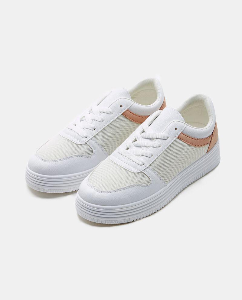 Sneakers con suola rinforzata donna