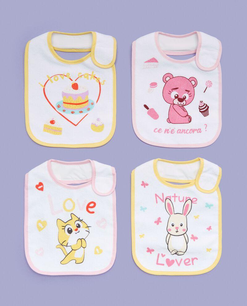 Four pack bavaglini bebè