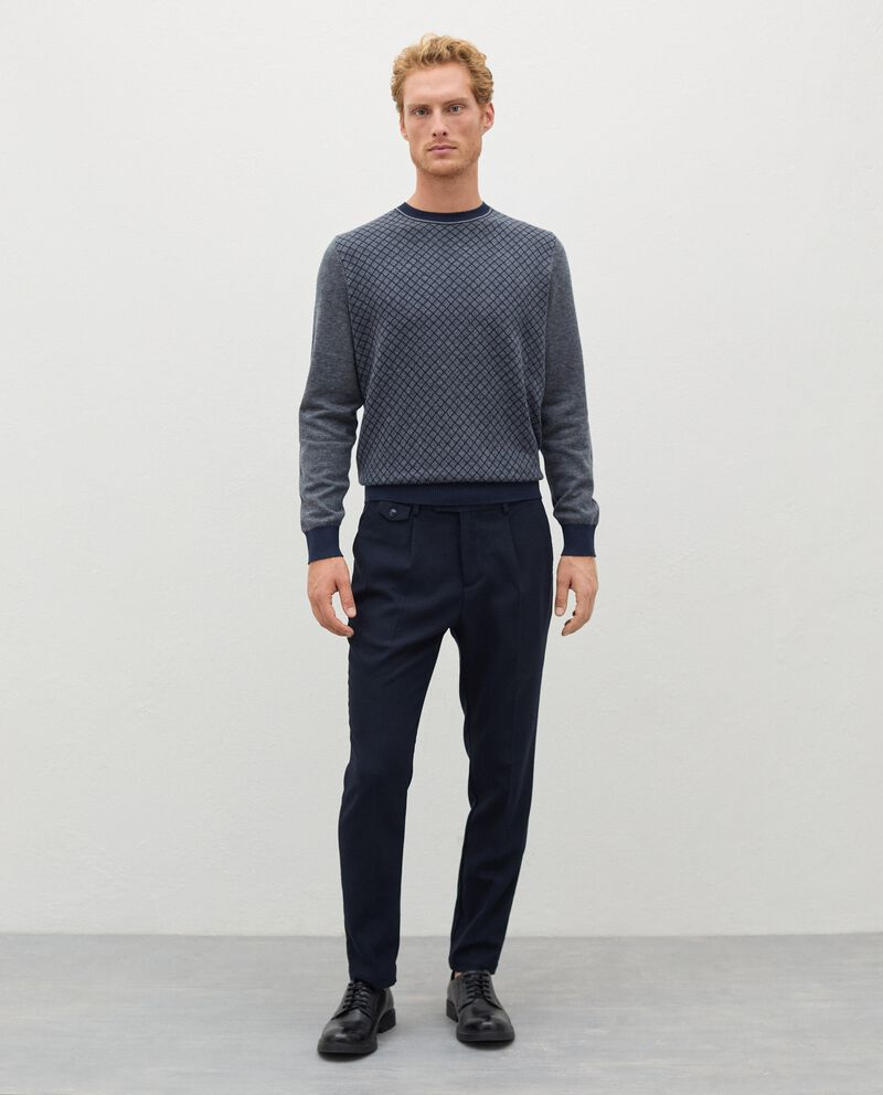 Pantaloni eleganti in poliviscosa uomo cover