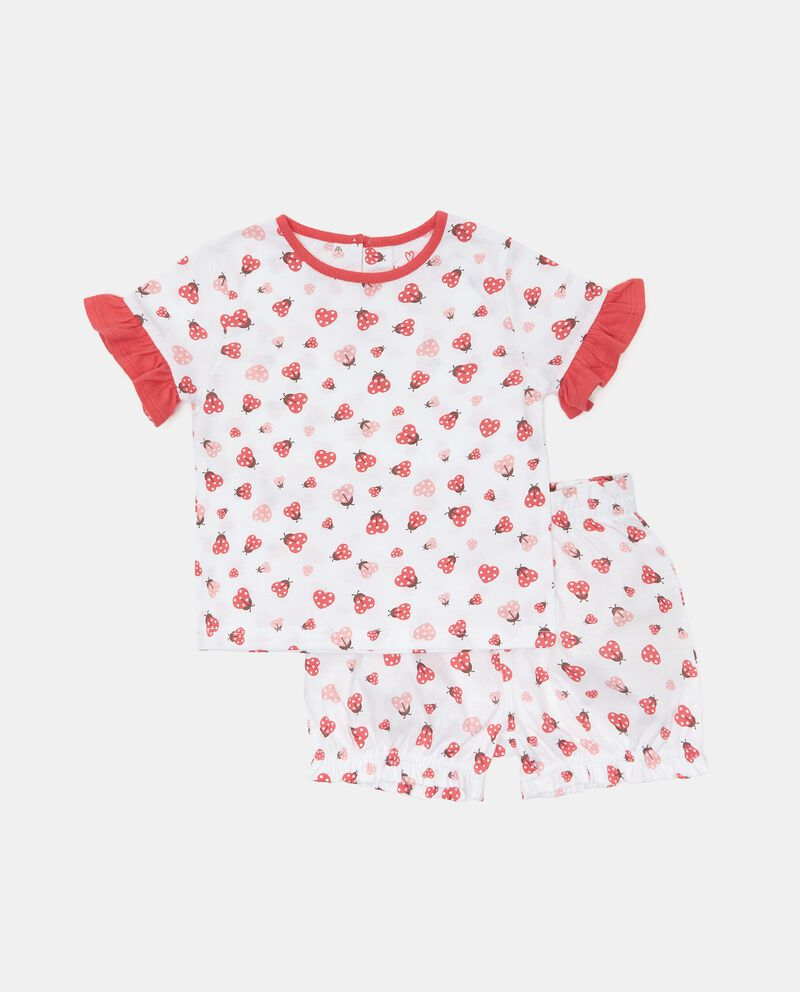 Pigiama in cotone jersey neonata