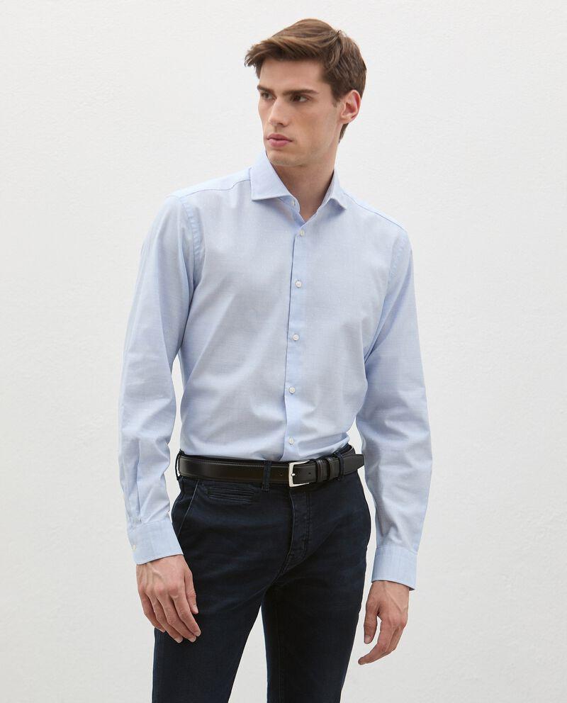 Camicia in puro cotone uomo cover
