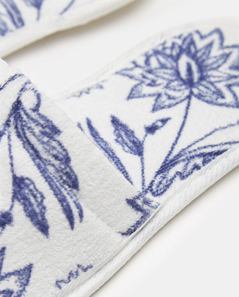 Pantofole con fantasia fiori single tile 1