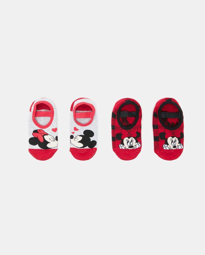 Set calzini Minnie e Topolino bambina