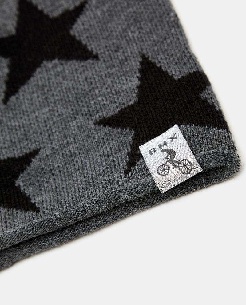 Berretto tricot con stelle single tile 1
