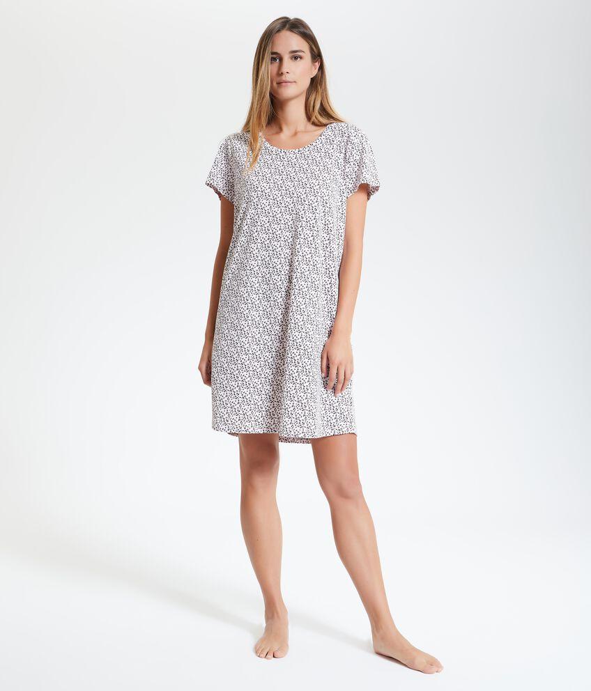 Camicia da notte in puro cotone donna