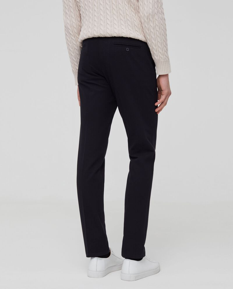Pantaloni cotone stretch con coulisse