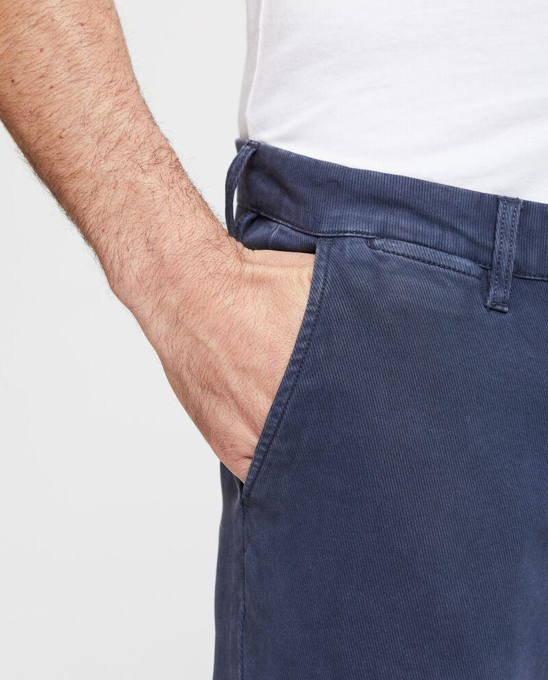 Pantaloni chino cotone stretch