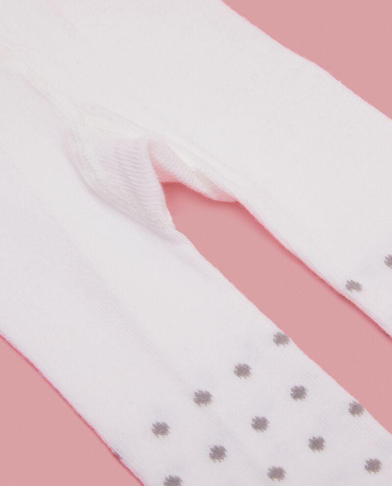 Calze con pois neonata