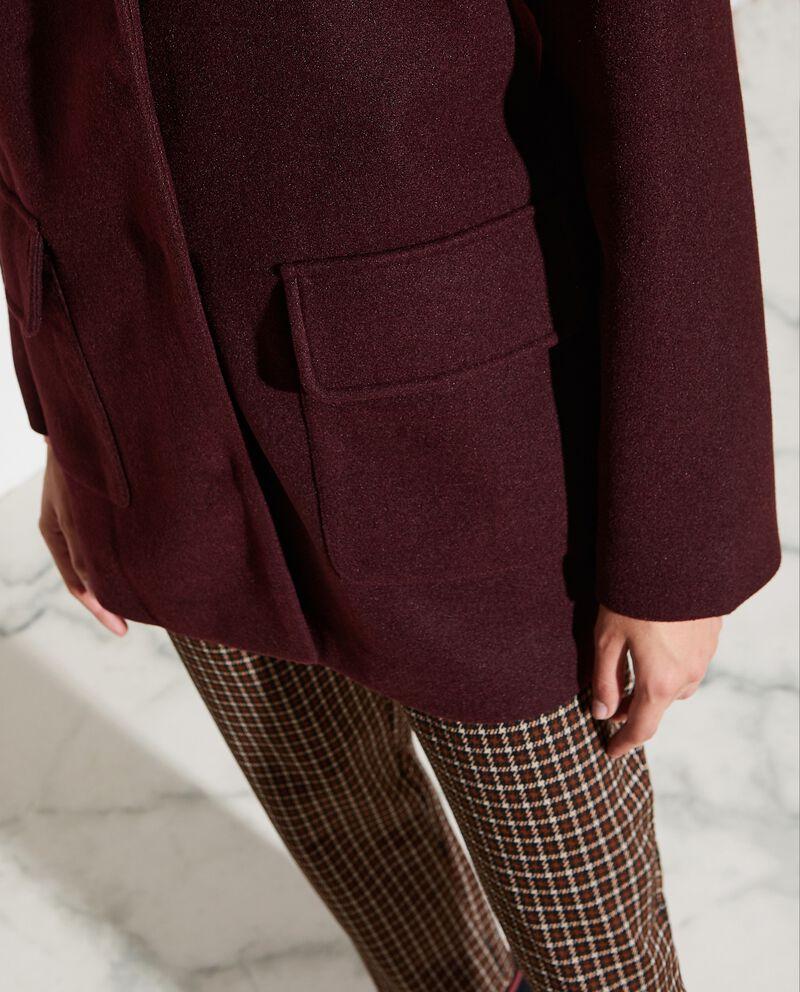 Cappotto con tasconi donna