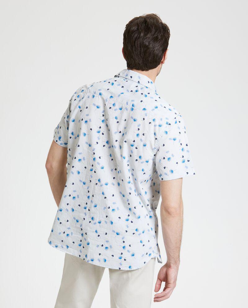 Camicia in puro cotone maniche corte uomo