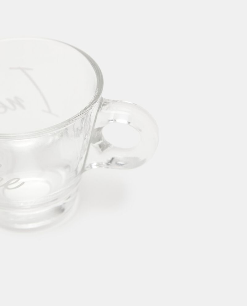 Set con 2 tazzine da caffè in vetro single tile 1