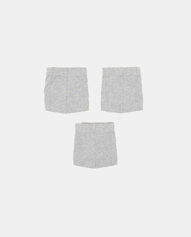 Pack con 3 boxer di puro cotone uomo cover
