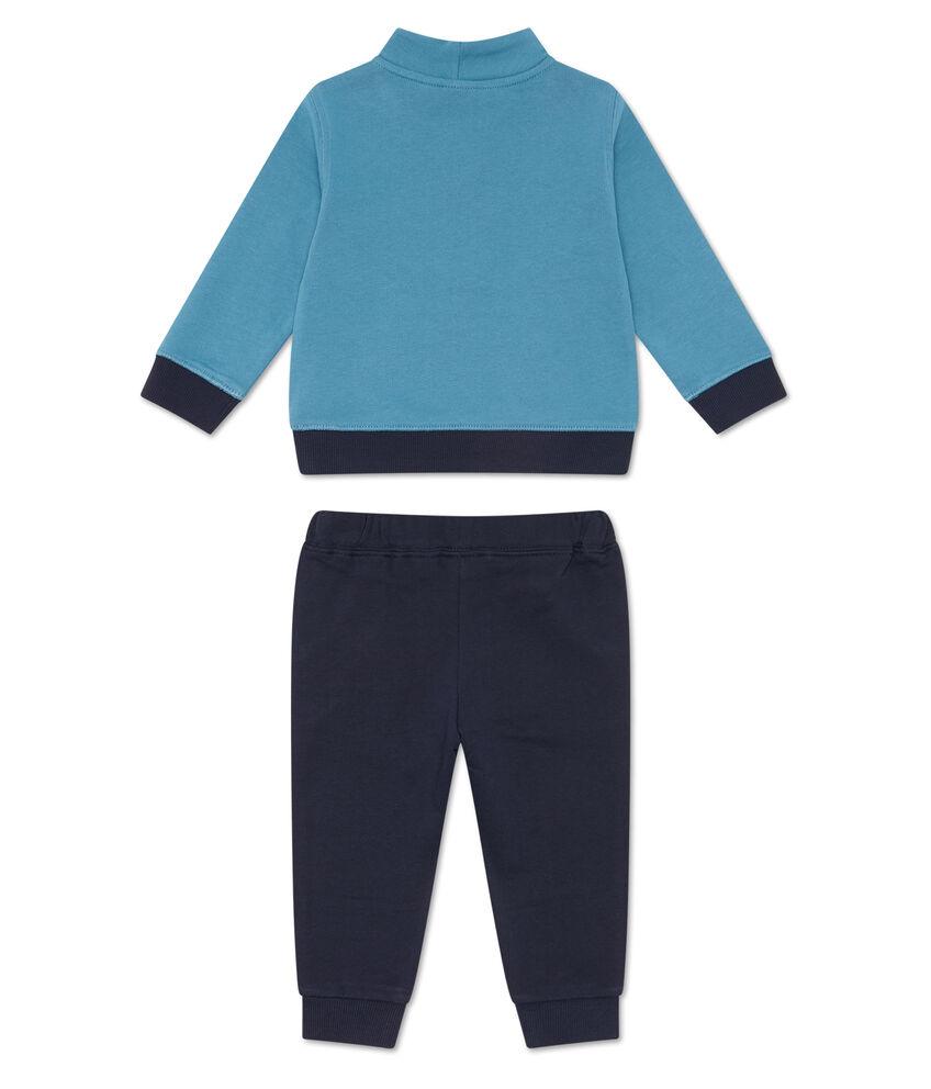 Tuta felpa e pantaloni cotone