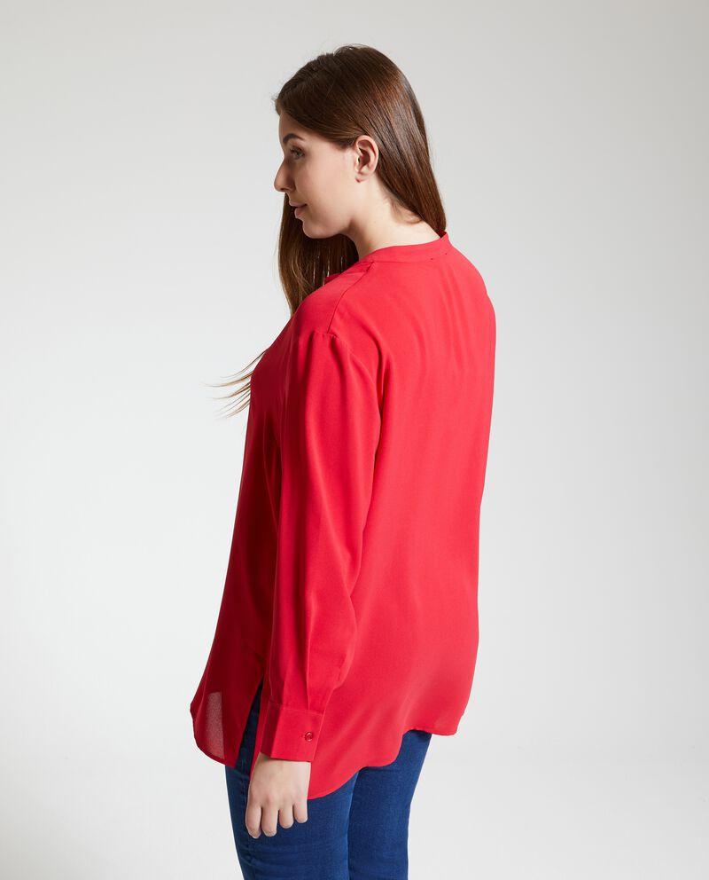 Camicia in tinta unita Curvy donna