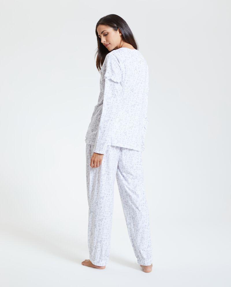 Set pigiama in puro cotone organico donna