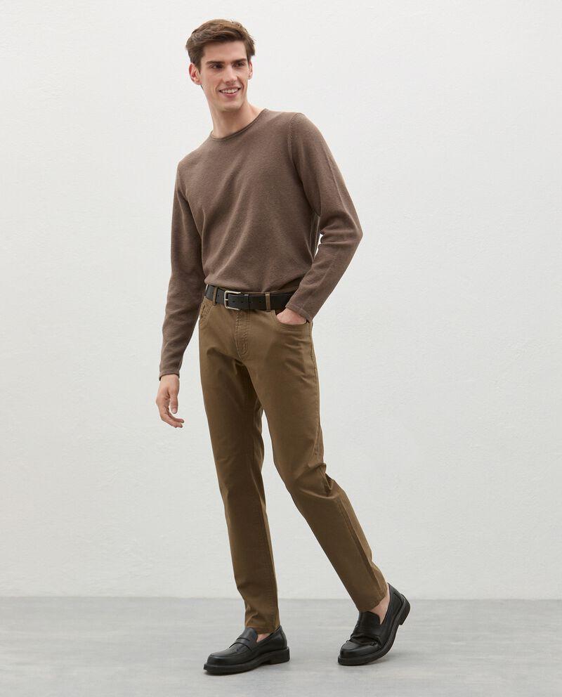 Pantaloni classici cinque tasche uomo cover