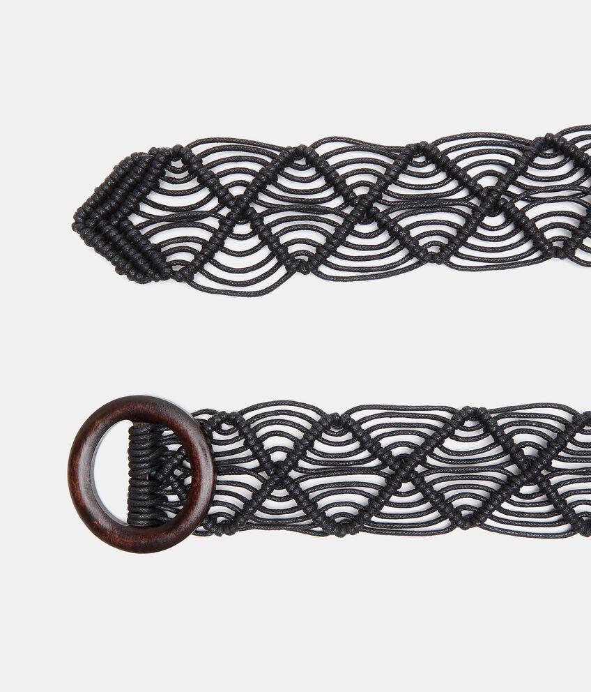 Cintura effetto crochet donna double 1