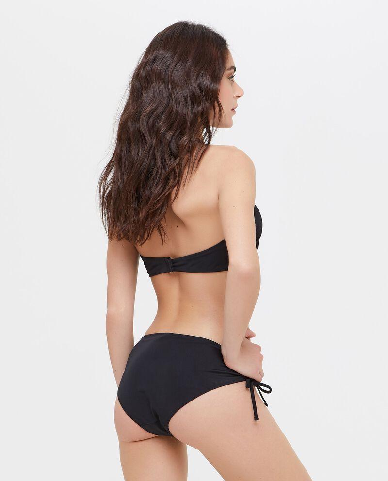 Slip Bikini con profili a contrasto