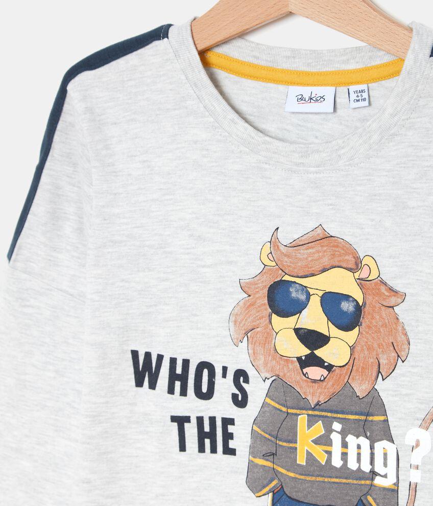 T-shirt con stampa bambino