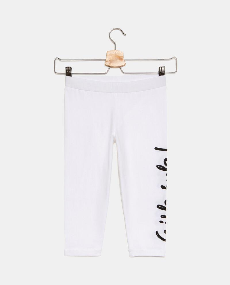 Leggings capri in jersey stretch ragazza