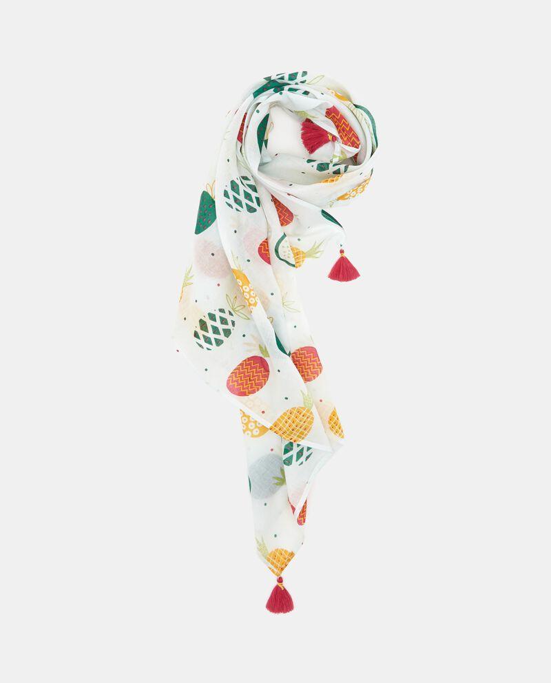 Sciarpa con fantasia frutta bambina