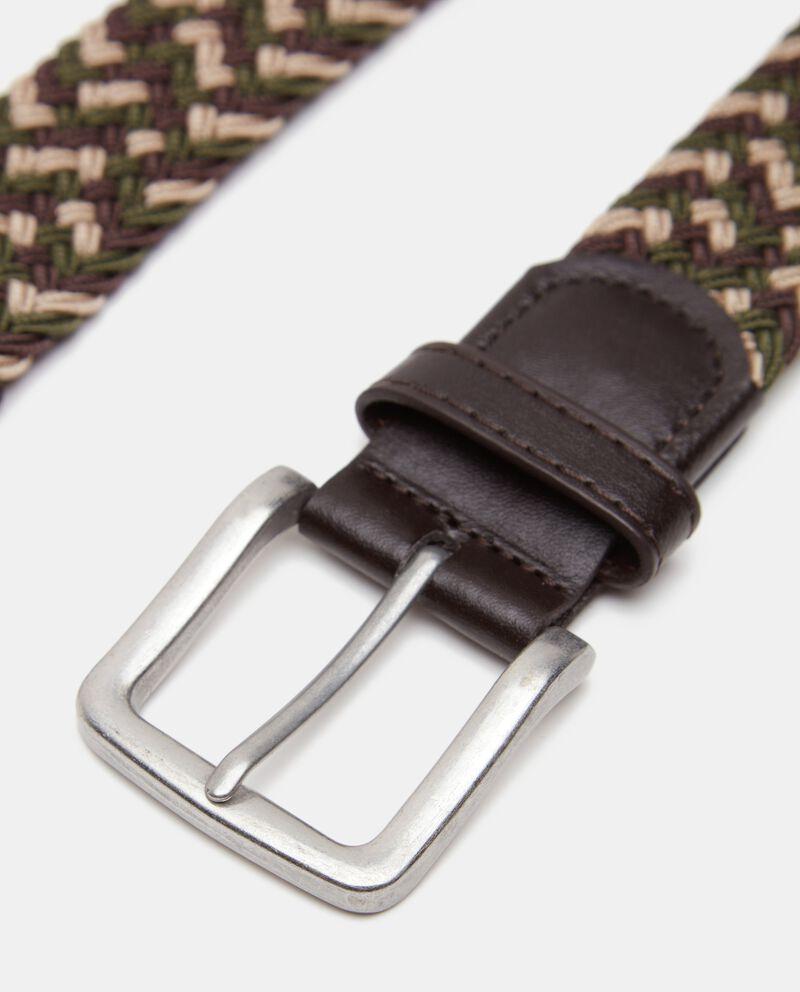 Cintura intrecciata uomo