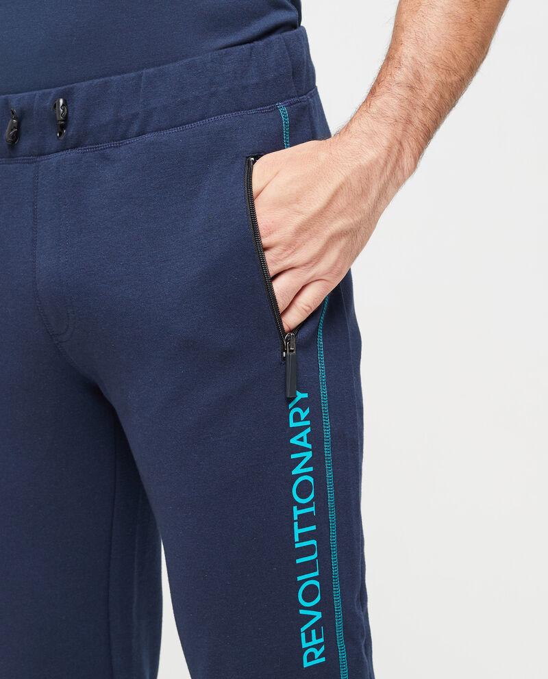 Pantaloni sportivi tasche con zip