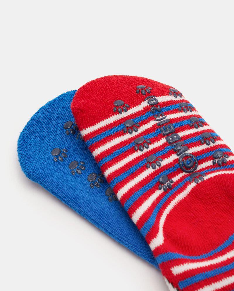 Bipack calzini antiscivolo Gatto Silvestro neonato