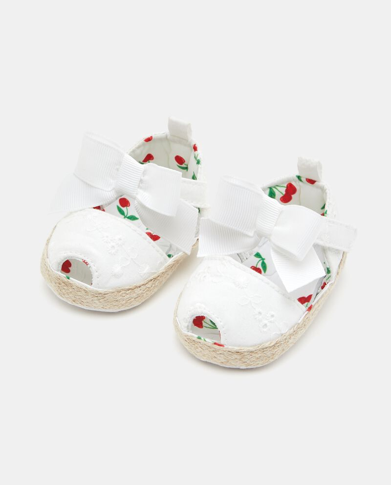 Scarpine modello espadrillas neonata