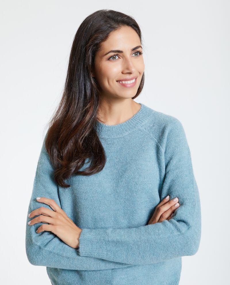 Maglione con girocollo donna