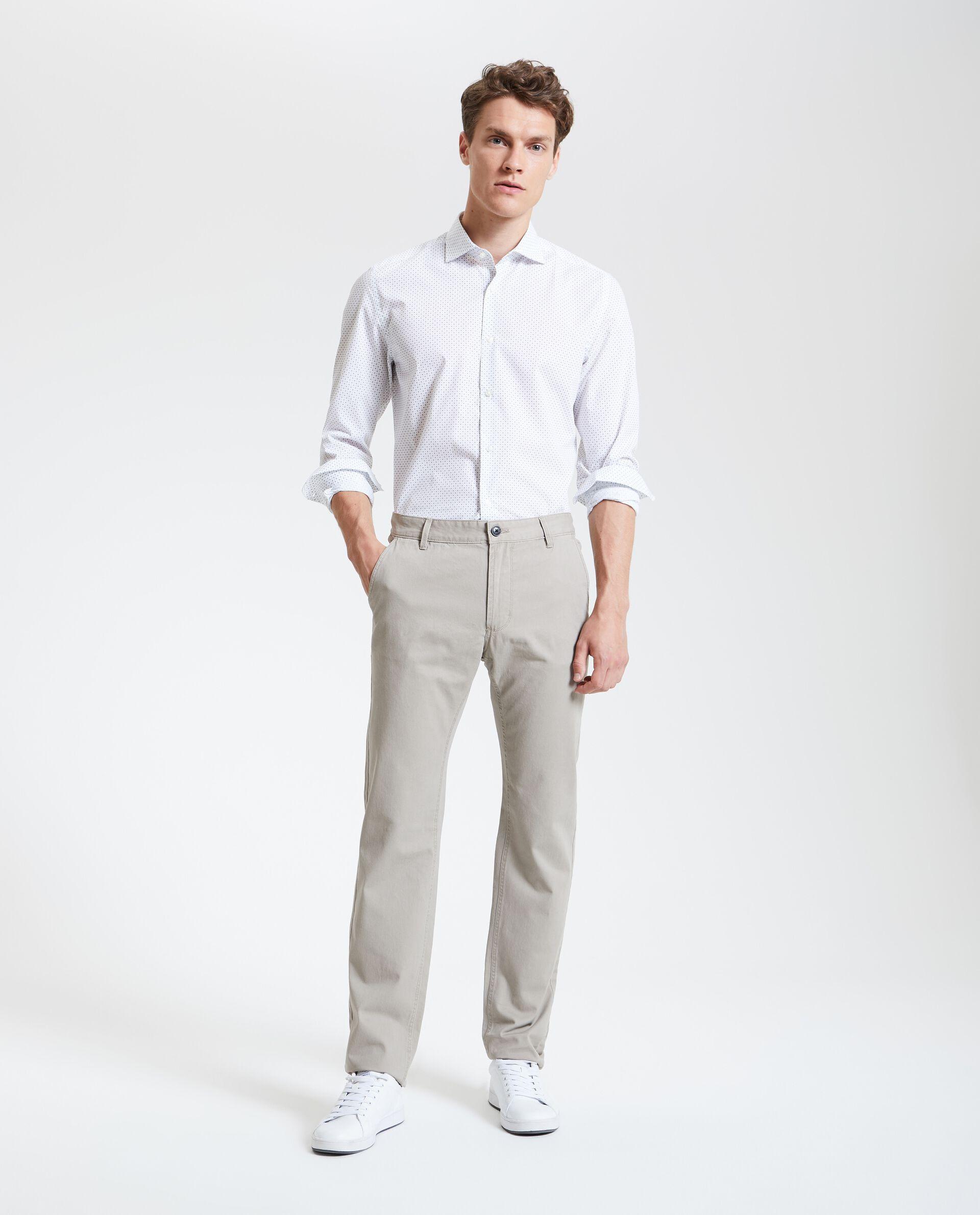 Pantaloni in puro cotone uomo