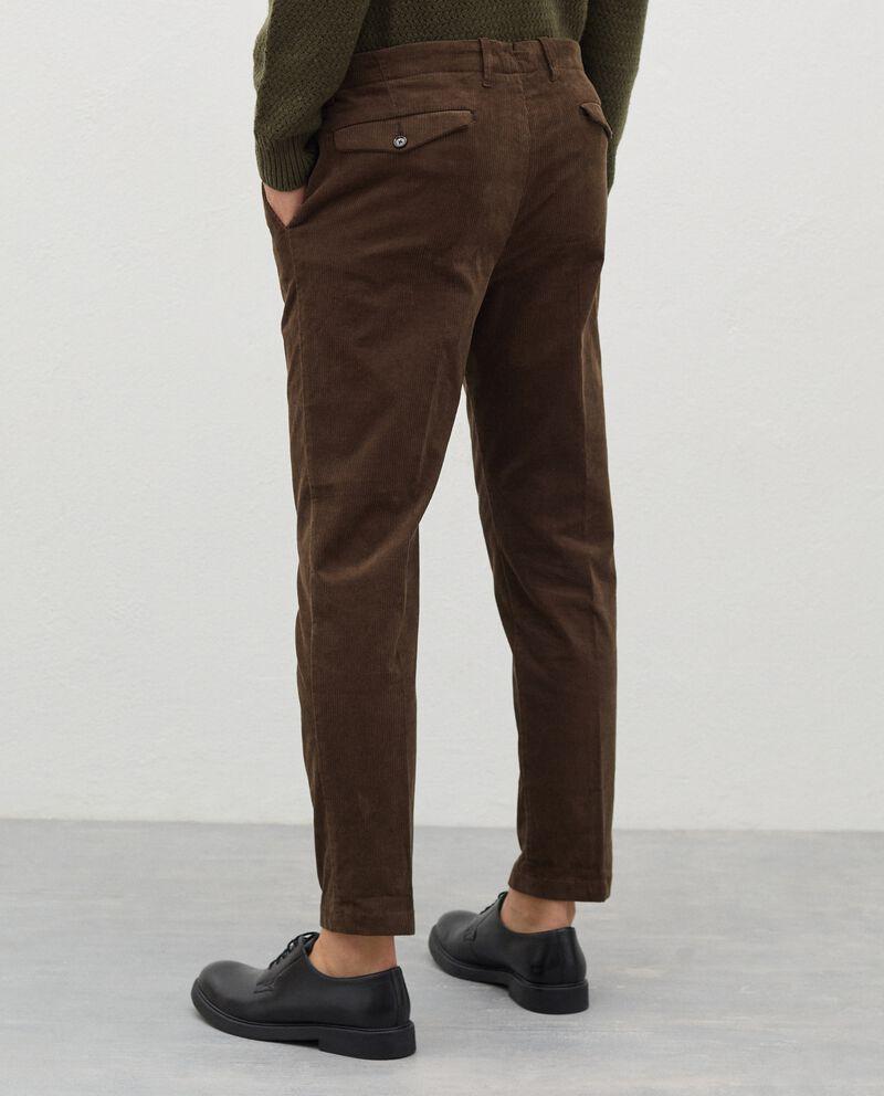Pantaloni in velluto a costine uomo single tile 1