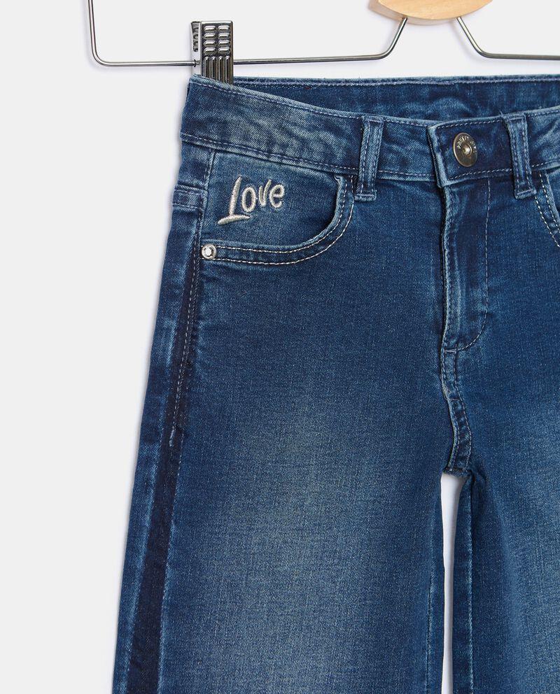 Jeans cropped ampi bambina single tile 1