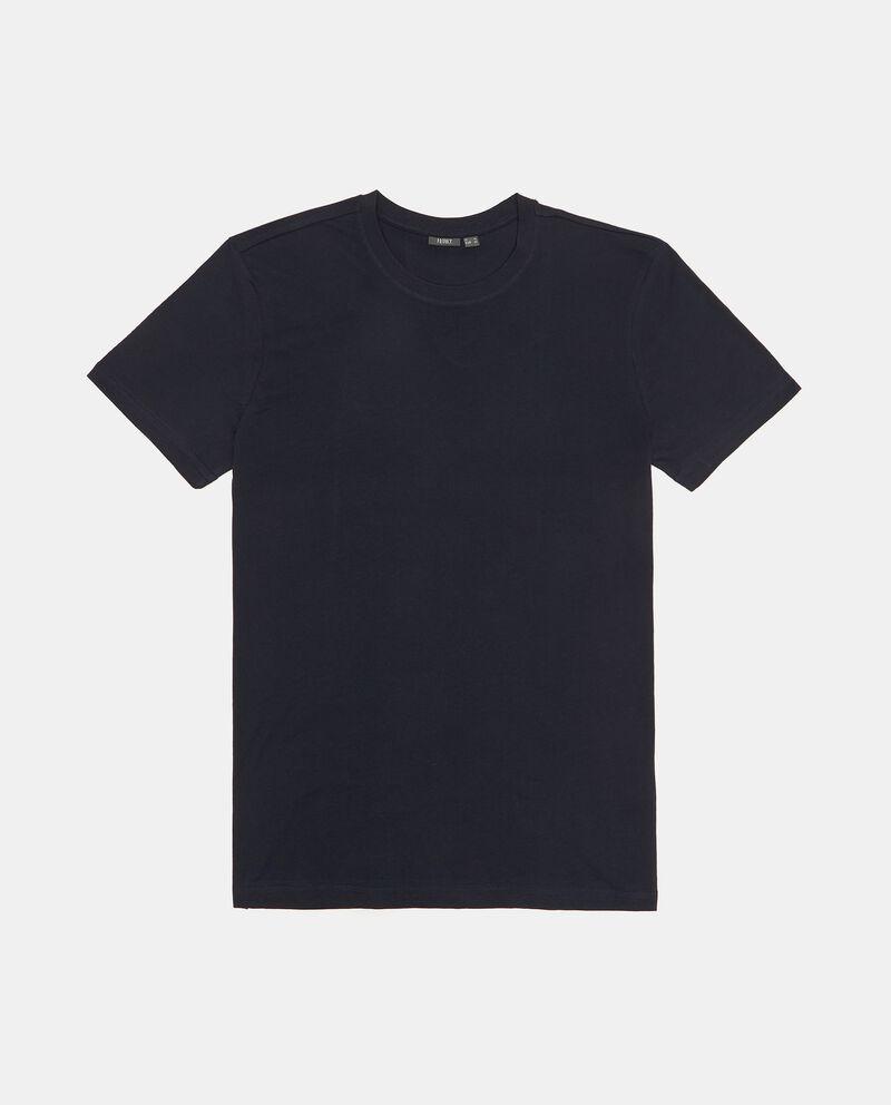 Set con 3 t-shirt intime di puro cotone uomo single tile 1
