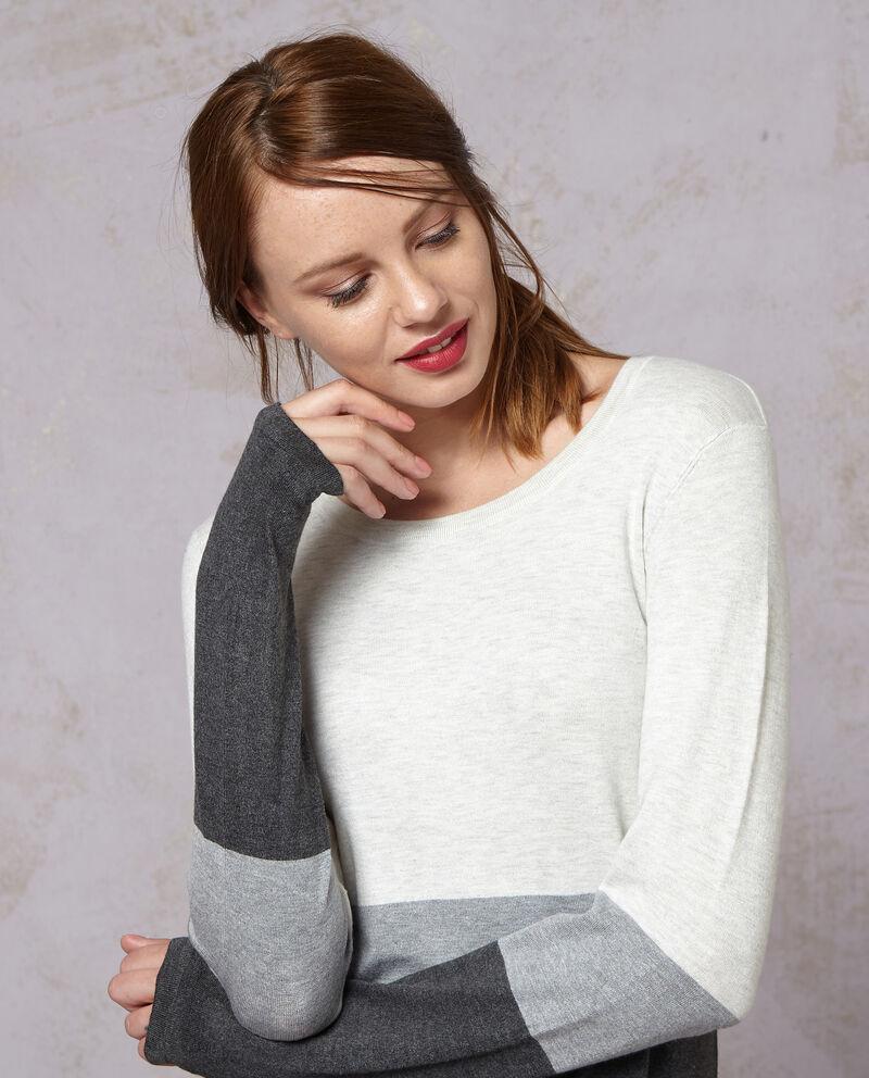 Abito stretch con lavorazione tricot